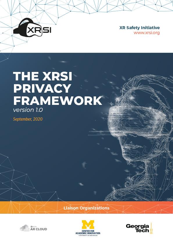 The XRSI Privacy Framework version 1.0